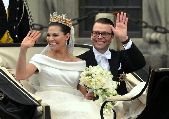 Victoria och Daniels bröllop